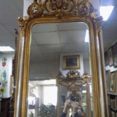 Oglinda cristal secol XIX - Pictor roman
