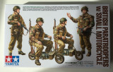 + Kit scara 1:35 Tamiya 35337 - British Paratroopers w/Small Motorcycle +