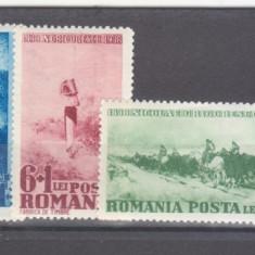 Romania 1938 Centenarul nasterii pictorului Nicolae Grigorescu 1A - Timbre Romania, Arta, Nestampilat