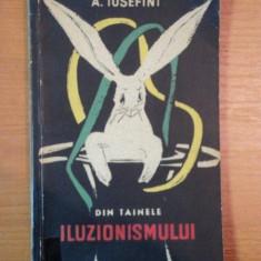 DIN TAINELE ILUZIONISMULUI de A. IOSEFINI - Carte Arta populara
