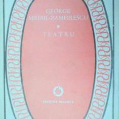 TEATRU-GEORGE MIHAIL-ZAMFIRESCU 1986 - Carte Teatru