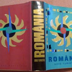 Romania. Ghid Turistic - Bucuresti, 1967 - Ghid de calatorie