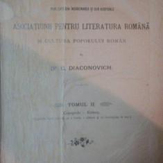 ENCICLOPEDIA ROMANA... de C. DIACONOVICH, TOM II, SIBIU 1900