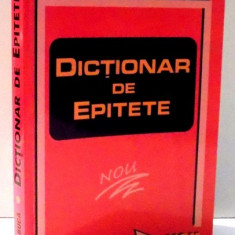 DICTIONAR DE EPITETE de MARIN BUCA, 2000
