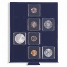 Tava SMART cu 12 locasuri pentru monede/capsule/cartonase de 50m