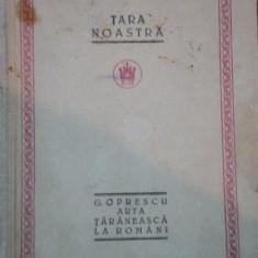 ARTA TARANEASCA LA ROMANI GHEORGHE OPRESCU - Carte Fabule