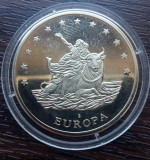 (M1921) MEDALIE GERMANA - EUROPA - 10 EURO 1997, STARE FOARTE BUNA, AUNC