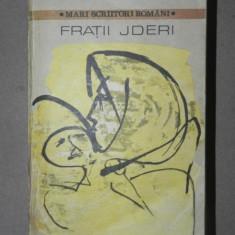 FRATII JDERI-M. SADOVEANU 1982 - Roman