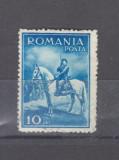 Romania   1932    Carol II     calare   urme de sarniera