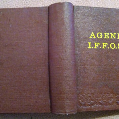 Agenda I.F.F.O.S.P.  Editia a III-a/ 1988 - Coordonator:  Ing. V. Dumitrescu, Alta editura