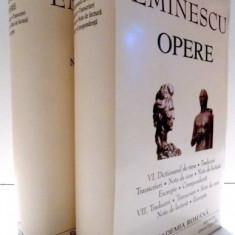 OPERE de MIHAI EMINESCU, VOL VI - VII, 2003 - Roman