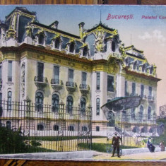 BUCURESTI, PALATUL CANTACUZINO - CARTE POSTALA ILUSTRATA - Harta Europei