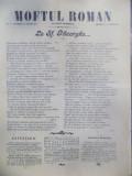 I. L. Caragiale, Moftul Roman, Nr. 4, 22 aprilie 1901