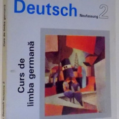 CURS DE LIMBA GERMANA, SPRACHKURS DEUTSCH 2 de ULRICH HAUSSERMANN...HUGO ZENKNER, VOL II, 1994 - Carte in alte limbi straine