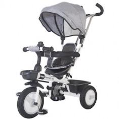 Tricicleta Multifunctionala Rider Gri - Tricicleta copii