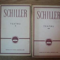 Teatru SCHILLER vol I-II - Carte Teatru