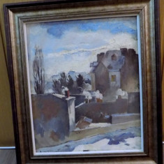 Lucretia Mihail Simion Peisaj Urban - Pictor roman