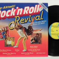 Rock'n Roll Revival (1981, K-Tel) disc vinil LP compilatie rock'n'roll