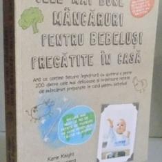 CELE MAI BUNE MANCARURI PENTRU BEBELUSI PREGATITE IN CASA de KARIN KNIGHT, TINA RUGGIERO, 2013 - Carte Retete traditionale romanesti