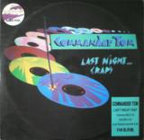 Commander Tom - Last Night a DJ... Rap (1989) disc vinil Maxi Single Euro-House