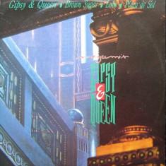 Gipsy & Queen - Megamix (1988, Time R.) disc vinil Maxi Single italo-disco - Muzica Dance