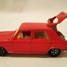 Masinuta macheta Majorette Simca 1100 TI Nr 234 1/60 Franta masina rosie - Macheta auto