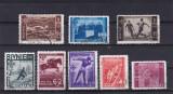 ROMANIA 1937  P 119  U. F. S. R. SERIE  STAMPILATA, Stampilat