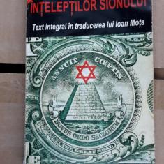Protocoalele Inteleptilor Sionului - Ioan Mota - Carte masonerie