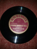"Assimil -Limba engleza fara efort -11 discuri de 7"" - 33 RPM vinil vinyl"