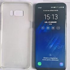 SAMSUNG S8 PLUS, 64 GB,  + HUSA PROTECT + ACCESORII, CUTIE, Negru, Neblocat, Single SIM