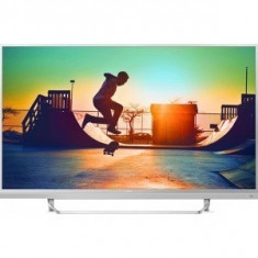 Televizor LED Philips Smart TV Android 49PUS6482/12 Seria PUS6482/12 123cm argintiu 4K UHD HDR Ambilight cu 3 laturi, 125 cm, Ultra HD