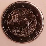 AUSTRIA moneda 2 euro comemorativa 2018, UNC, Europa, Cupru-Nichel