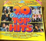 Disc  vinil  20  original top  hits