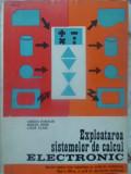 Exploatarea Sistemului De Calcul Electronic Manual Pentru Lic - Adrian Damachi, Mircea Hrim, Liana Vlass ,409230