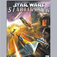 Star Wars - Starfighter PLATINUM - PS2 [Second hand], Simulatoare, 3+, Single player