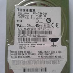 Vand Hdd DEFECT pt Laptop Toshiba MK4058GSX 400 Gb Pre 25 Lei