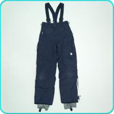 Pantaloni tip salopeta ski—iarna, impermeabili, TCM → fete | 9—10 ani | 140 cm - Echipament ski, Copii