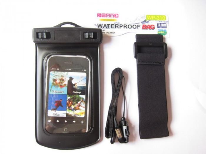 Acum poti face poze si sub apa ! husa subacvatica pentru Apple iPhone 4 4S 5 - Prindere brat sau gat foto mare