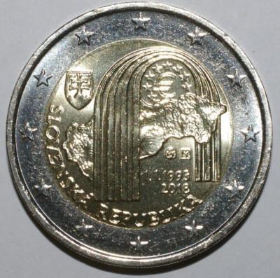 moneda 2 euro comemorativa SLOVACIA 2018 - UNC foto