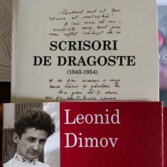 Leonid Dimov scrisori de dragoste - Biografie