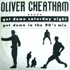 Oliver Cheatham - Get Down Saturday Night '89 disc vinil Maxi Single House-Disco