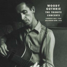 Woody Guthrie.=Trib= - Tribute Concerts-Cd+Book- ( 5 CD ) - Muzica Country