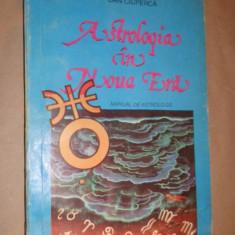 Astrologia in noua era manual de astrologie moderna an 1994/400pag- Dan Ciuperca - Carte astrologie