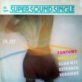 Funtoms - Hoola Rap (1984, Raf) disc vinil Maxi Single hit euro-disco, rar