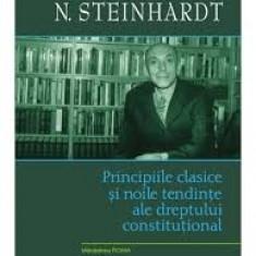 N.Steinhardt  Principiile si noile tendinte ale dreptului constitutional#