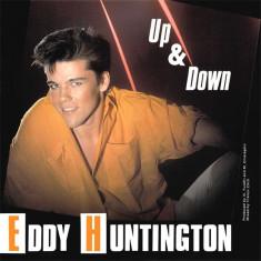 Eddy Huntington - Up and down (1987, ZYX) disc vinil Maxi Single italo-disco - Muzica Dance