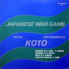 Koto - Japanese war game (1983, ZYX) disc vinil Maxi Single italo-disco - Muzica Dance
