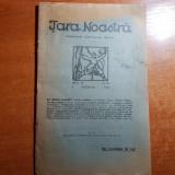 revista tara noastra 8 noiembrie 1925-art. octavian goga si al. o .teodoreanu