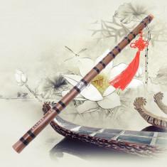 Flaut de bambus Tradițional lucrat manual cheie G