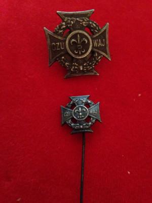 Insigna Miniatura - Cercetasii Poloniei foto